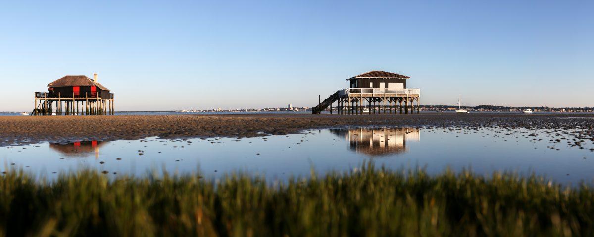cabane tchanquée bassin arcachon ecotours séjour groupe