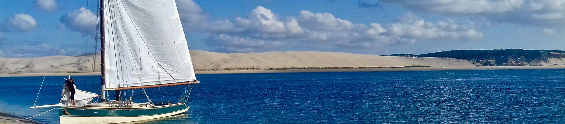 voile bassin arcachon ecotours séjour groupe insolite