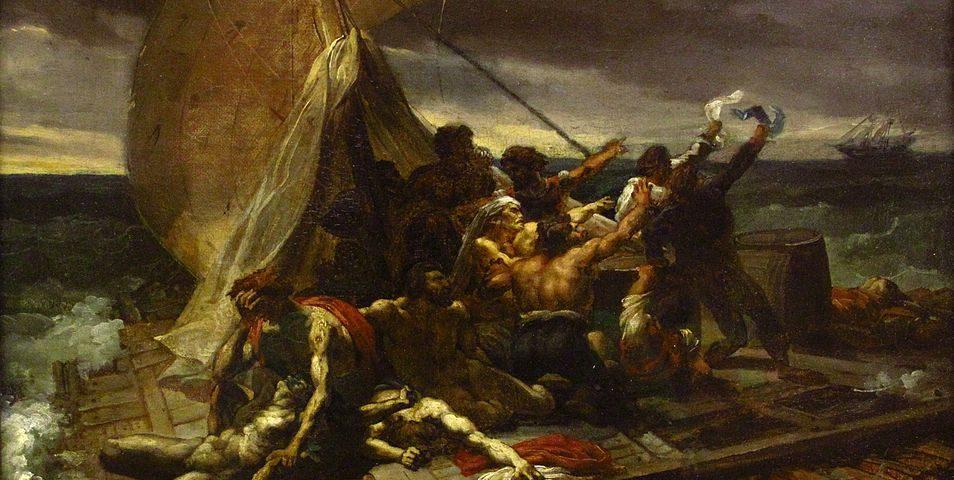 radeau meduse tableau Géricault
